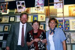 Margaret, Barbara and Bill in London